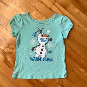 4/$20 Disney Frozen T-shirt size 5